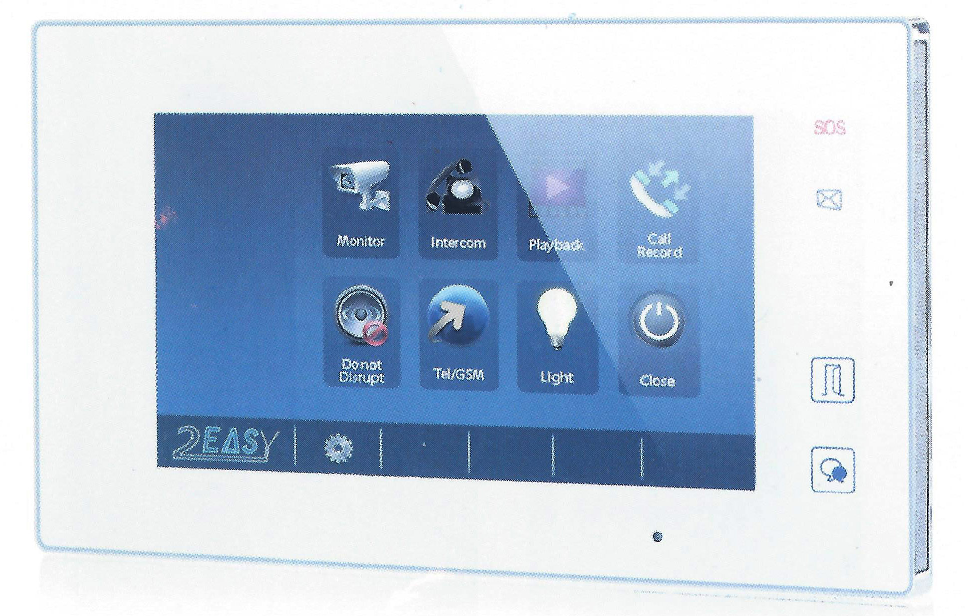 Color Video Intercom Systems & Doorphone Kits by 2Easy, Aiphone ...