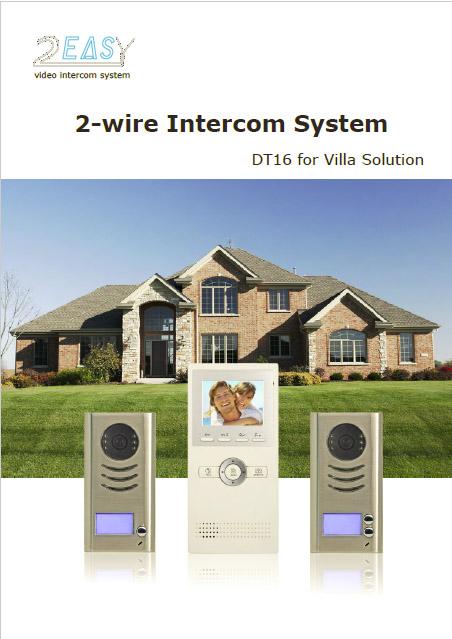 2easy Deluxe Color Video Intercom Door Entry System Kits