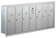 Bommer 9040-7 vertical mailbox STD 4B+