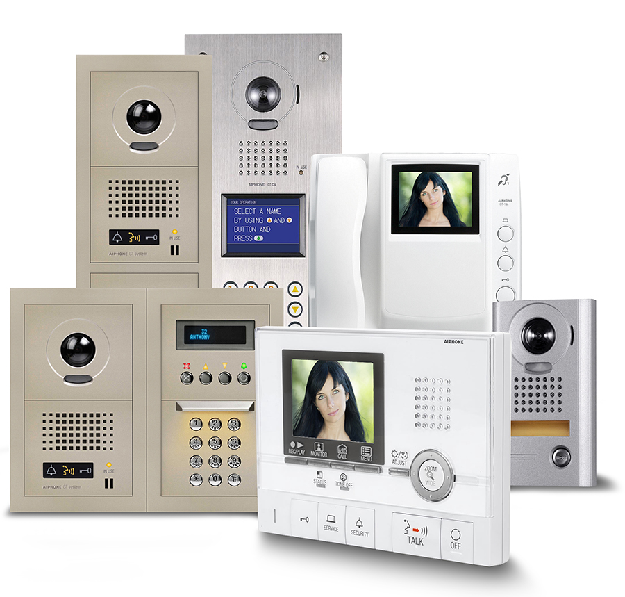 AIPHONE GT Color Video Intercom Entry System for Multi-Tenant ...