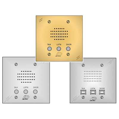 Apartment Intercom Stations Aluminum Plastic Stainless