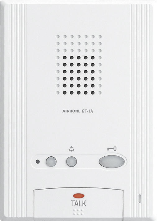 GT 1A aiphone gt 1a audio only tenant station for gt series intercom aiphone gt 1c wiring diagram at webbmarketing.co