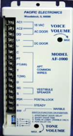 Pacific_AF1000 pacific electronics af1000 af 1000 intercom amplifier auth intercom wiring diagrams at mifinder.co