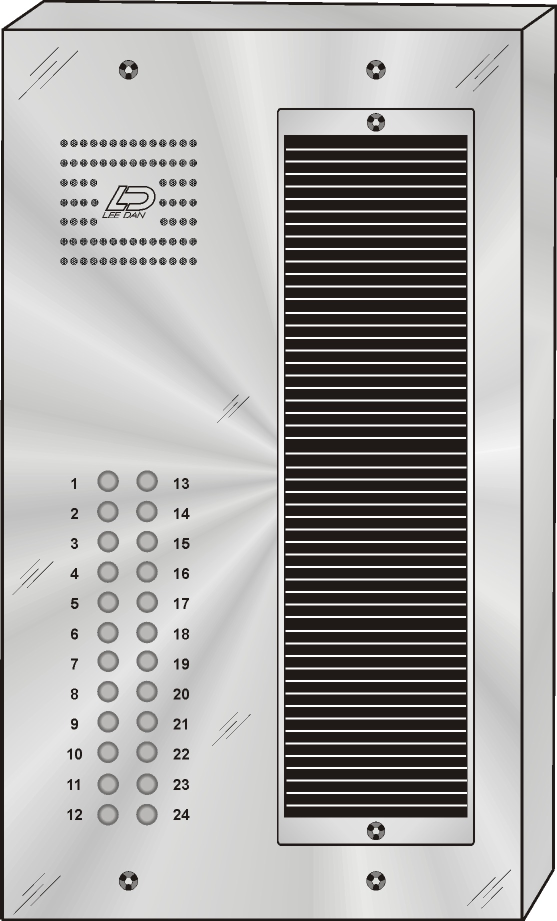 QS-024S 24 Button Panel